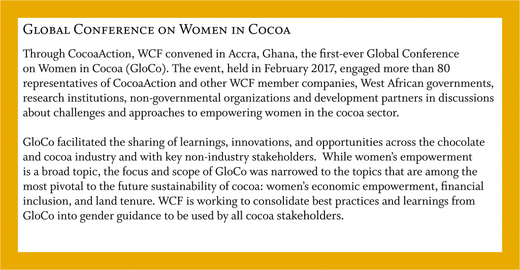 CocoaAction in Action: Global Conference on Women in Cocoa