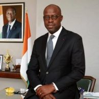Alain-Richard Donwahi Minister of Water and Forests of Côte d'Ivoire