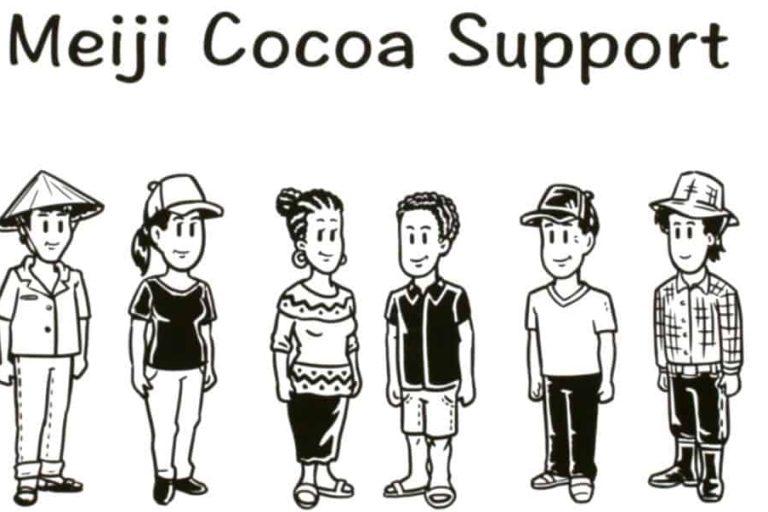 Meiji cocoa support video clip