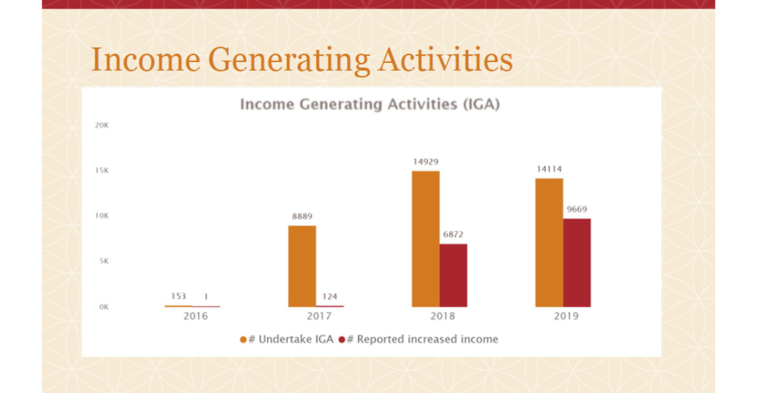 2019 CocoaAction data income generating activities