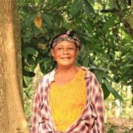 Sustainable cocoa farmer Comfort Owusuaa in Ghana
