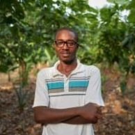 Photo of sustainable cocoa farmer Hamidu Isaka