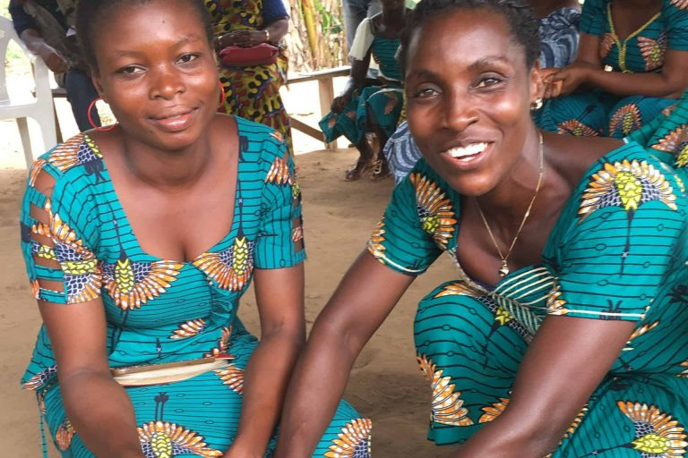 Sustainable women cocoa farmers in Cote d'Ivoire