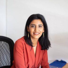Headshot of Aarti Kapoor, Executive Director, Embode