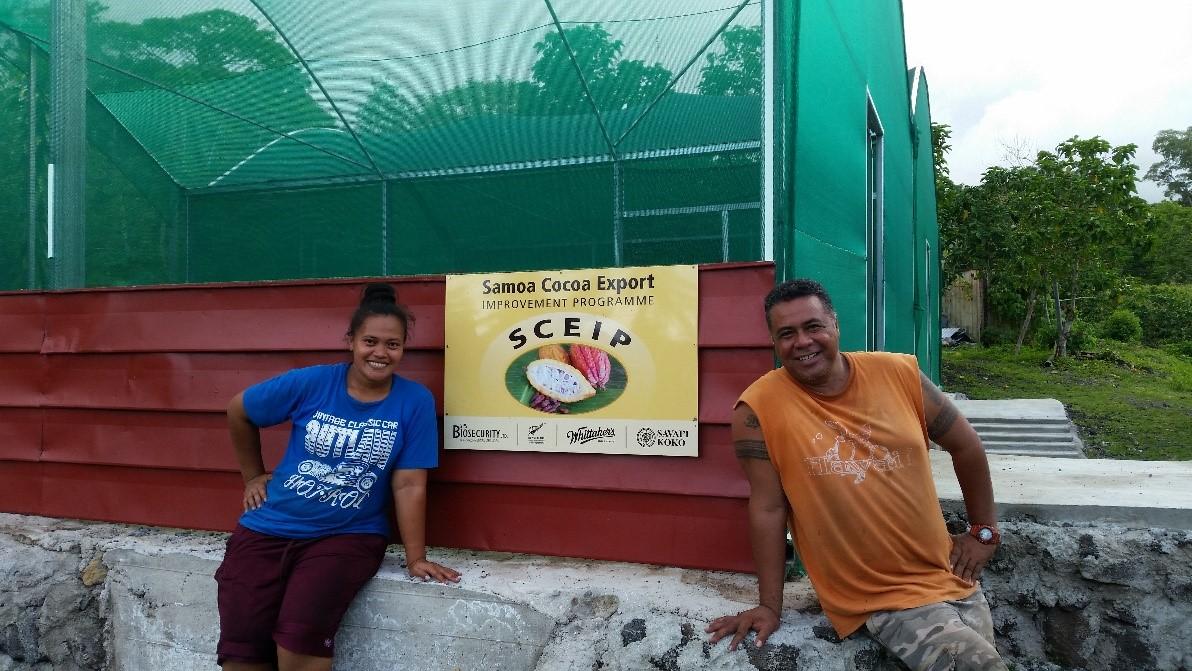 Samoa Cocoa Export Program Courtesy Of Keith Budd