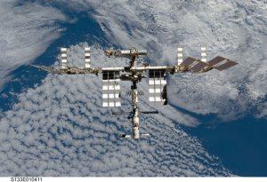 International Space Station photo courtesy of NASA